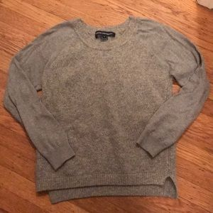 French Connection cozy gray sweater, sz M